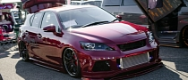 Custom Lexus CT at 2013 Drefess Show