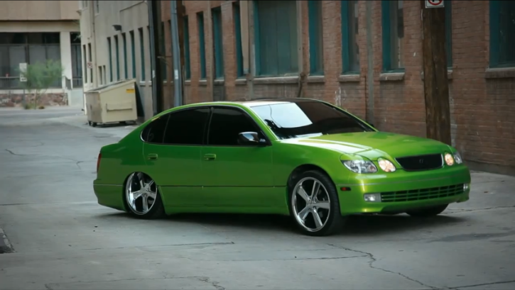 Custom Lexus GS 300 is Modern Lowrider [Video]