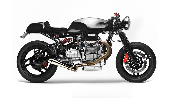 Custom Moto Guzzi V1100 By Santiago Chopper Autoevolution