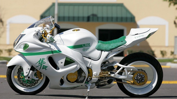 Custom Nick Anglada Hayabusa Floats On Invisible Wheels [Photo Gallery]