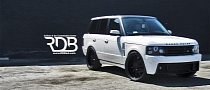 Custom Range Rover by R Dream Body Shop Is Bling