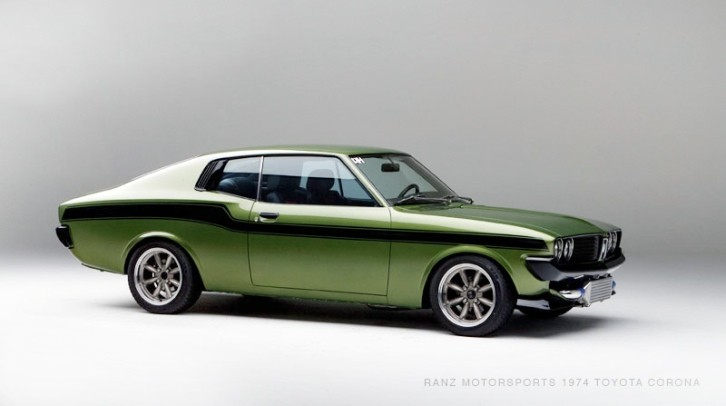 Custom Rare Toyota Corona Mark 2 Coupe Doubles As Japanese