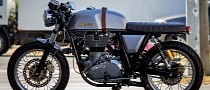 Custom Royal Enfield Continental GT Morphed at the Hands of MotoMax