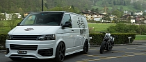 Custom T5 VW Transporter on Vossen Wheels