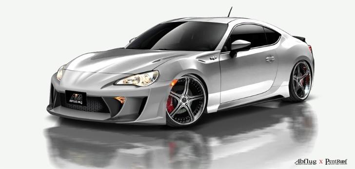 Custom Toyota GT 86 by Abflug