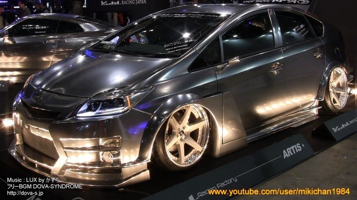Custom Toyota Prius Isn T As Bad As You Think At Tokyo
