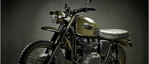 "Custom Triumph Scrambler ""Desert"" by Drags&Racing"
