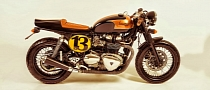 Custom Triumph Thruxton Shows Infinite Style [Photo Gallery]