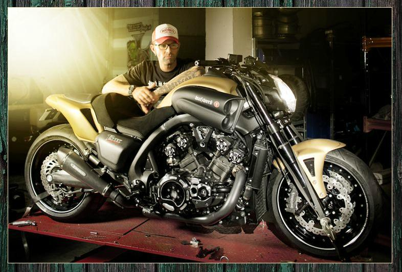 custom yamaha v max by marcus walz autoevolution. Black Bedroom Furniture Sets. Home Design Ideas