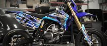 Custom Yamaha WR450F Presented to Ben Spies