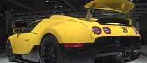 Custom Yellow Bugatti Veyron Grand Sport at 2011 Dubai Show [Video]