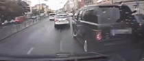 Czech Driver Causes Crash Then Makes Getaway [Video]