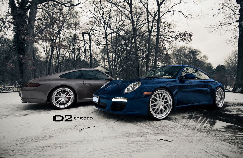 D2forged Mixes The Porsche 911 With Snow Amp Ice Autoevolution