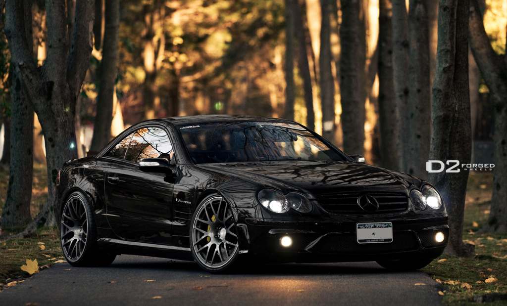 D2forged Wheels For Mercedes Sl55 Amg Autoevolution
