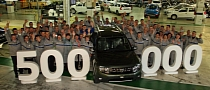 Dacia Builds 500,000th Duster