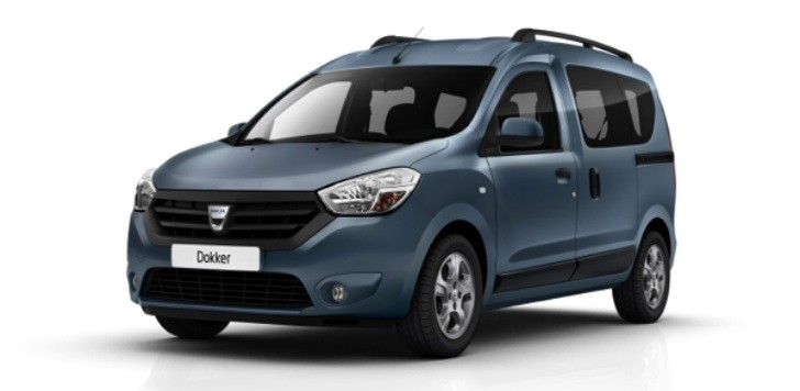 Dacia Dokker and Dokker MPV Official Photos
