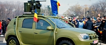 Dacia Duster Army Is an Affordable Car With a Machine Gun [Photo Gallery]