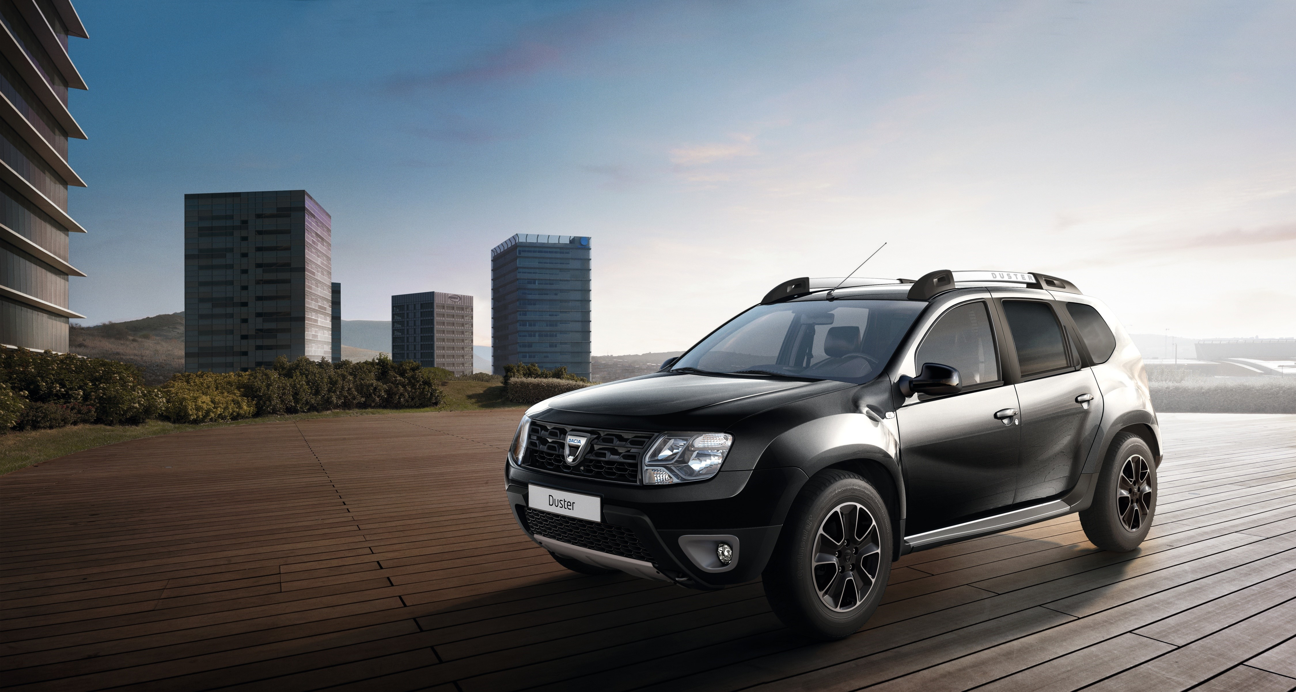 dacia duster gets new top trim level it 39 s called black touch autoevolution. Black Bedroom Furniture Sets. Home Design Ideas