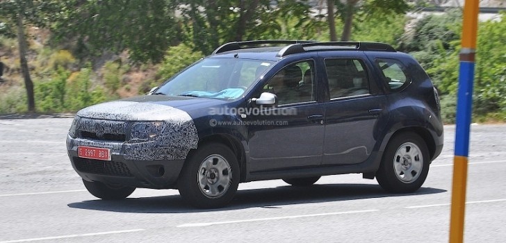 Dacia Duster Facelift Confirmed for Frankfurt