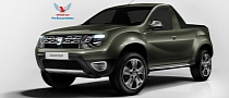 Dacia Duster Facelift Pickup Truck: Yes Please