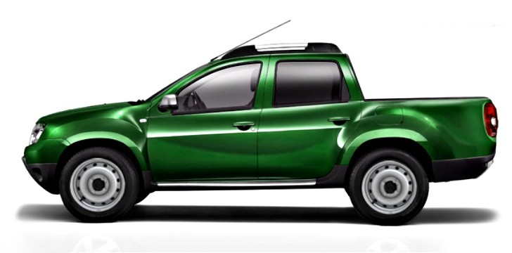 Dacia Duster Pick-Up Here in 2014