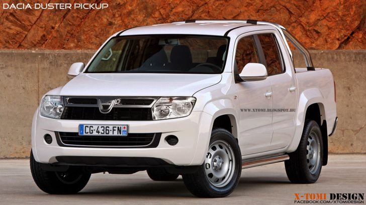 Dacia Duster Pickup: New Rendering Released