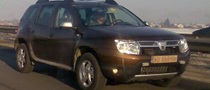Dacia Duster Spied on Romanian Highway