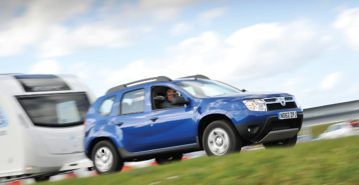 Dacia Duster Wins Best Budget 4x4 Tow Car Award
