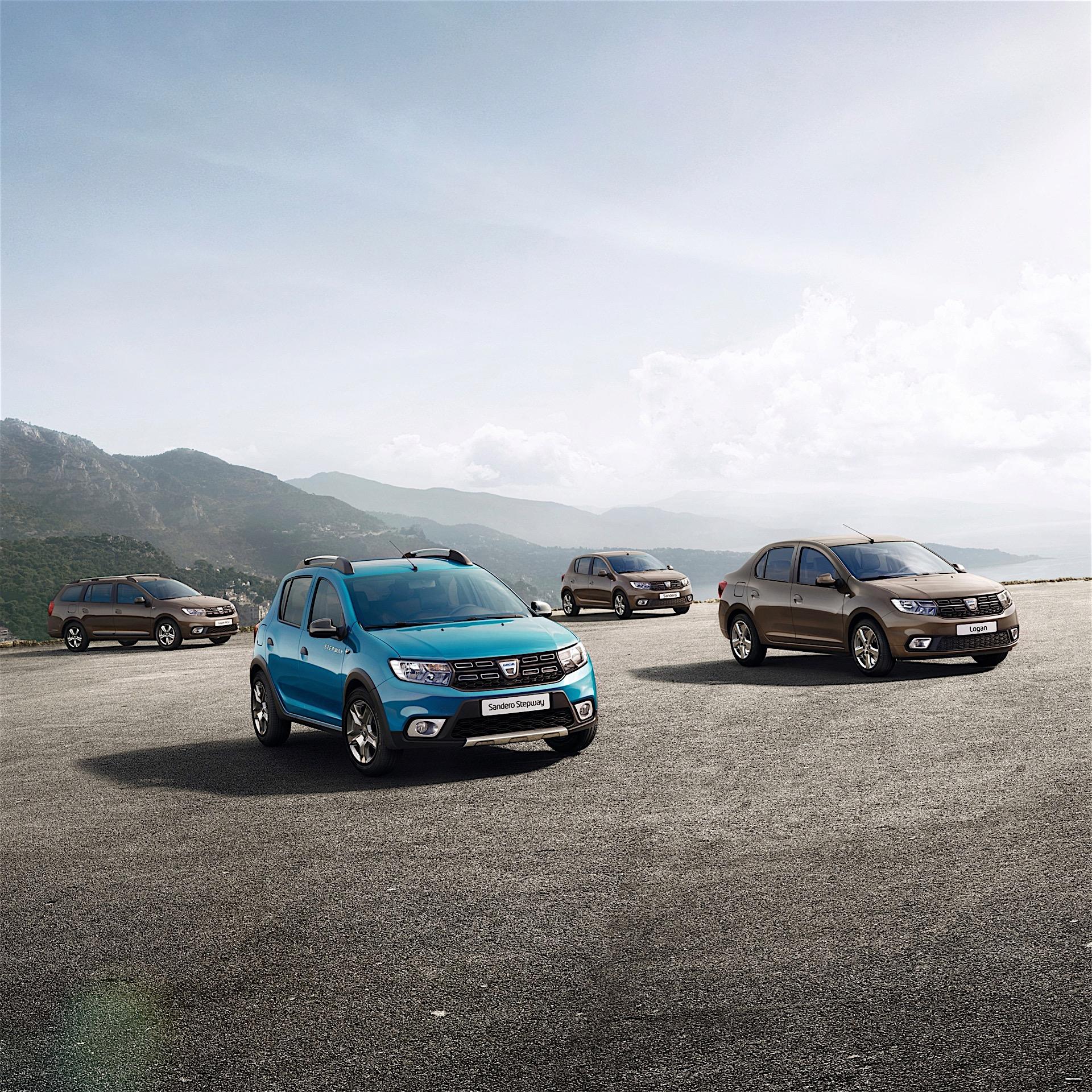 Dacia Sandero facelift, Dacia Logan facelift revealed ahead of Paris premiere