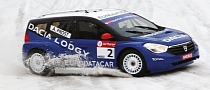 Dacia Lodgy Glace Makes Podium Racing Debut