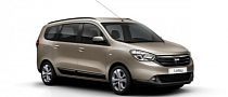Dacia Lodgy MPV Photos Released