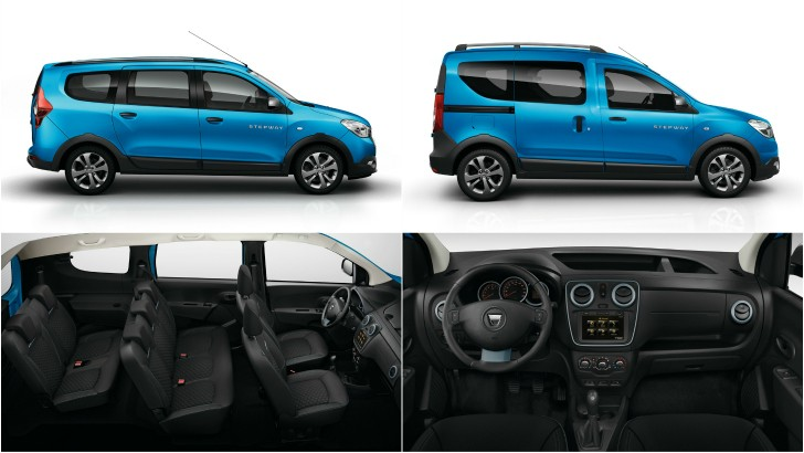 dacia lodgy stepway and dokker stepway pricing announced. Black Bedroom Furniture Sets. Home Design Ideas