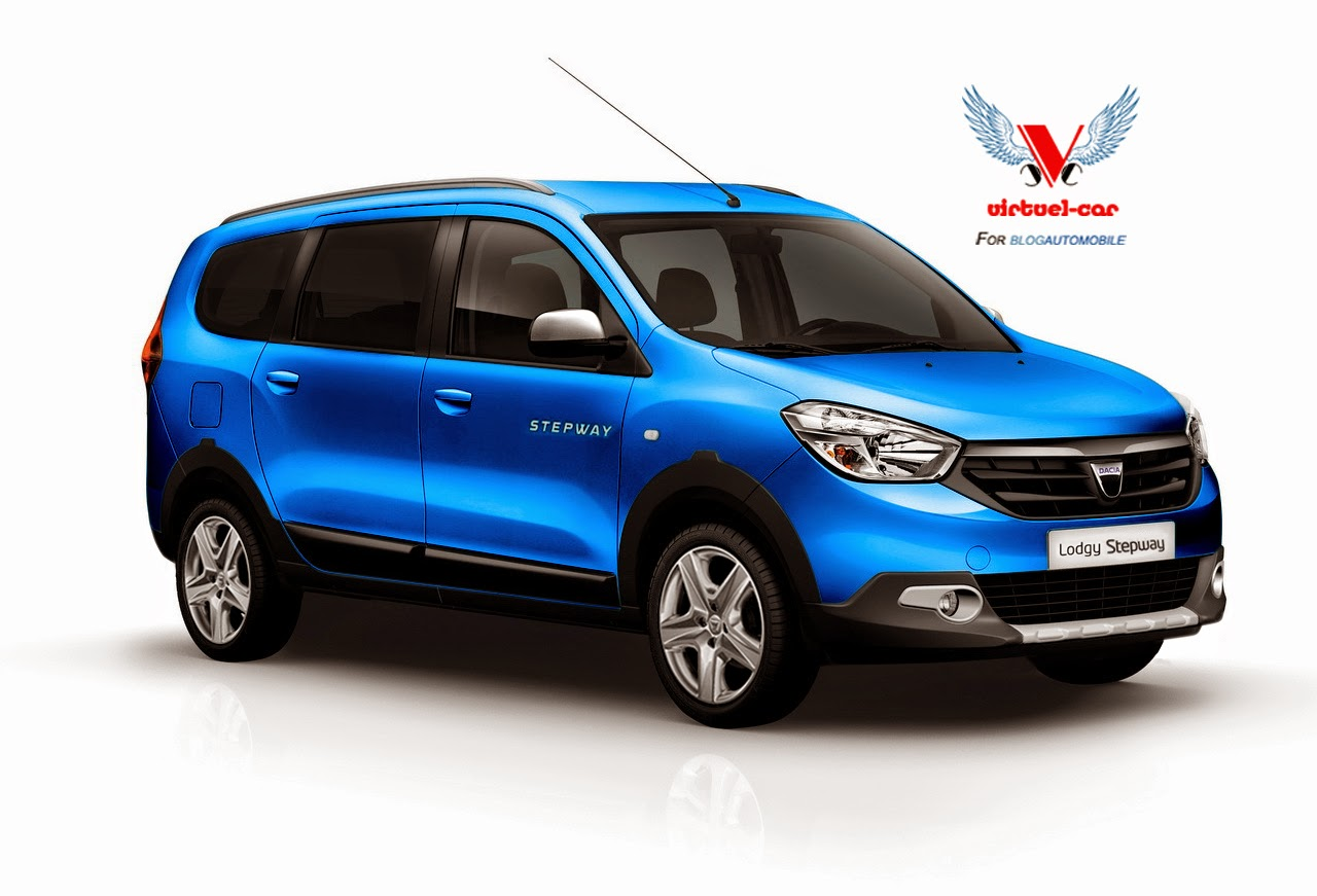 Dacia Lodgy Stepway Rendered Coming To Paris Autoevolution