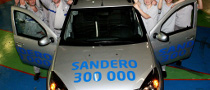 Dacia Sandero, 300,000 and Counting