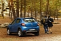 Dacia Sandero Stepway Photo Shoot: Forest of Fontainebleau [Video]