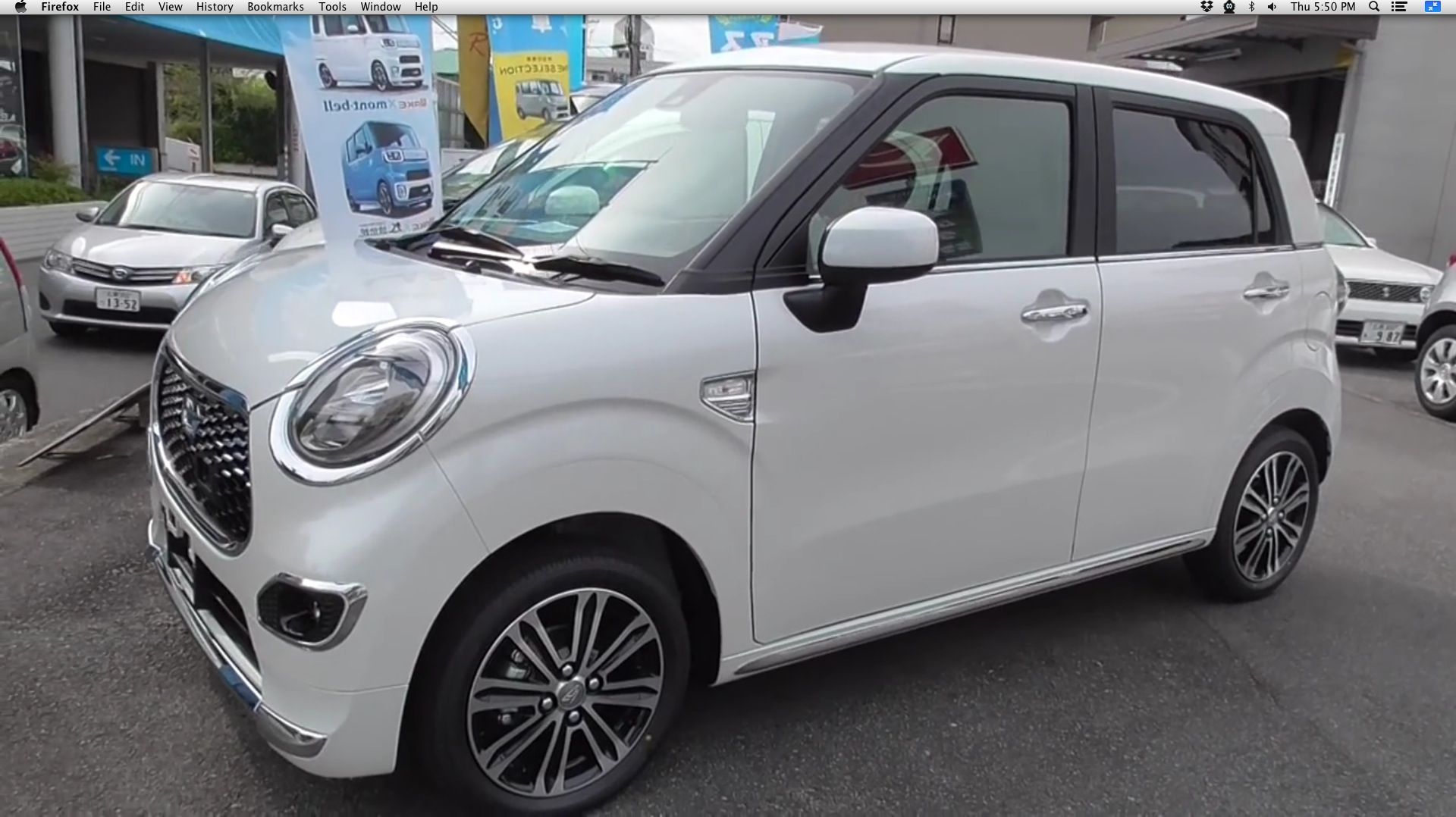 Daihatsu New Cast Style G Saii Is A Shrunken Mini Cooper From An