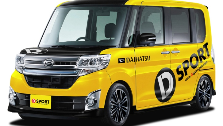 Daihatsu Tanto Getting New Parts from D-Sport - autoevolution