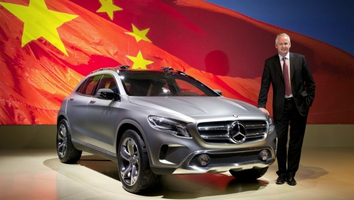 Daimler AG to Buy 12 Percent Stake in BAIC Tomorrow