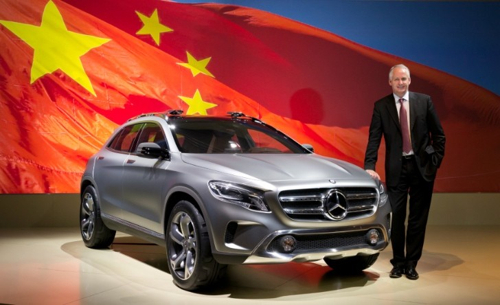 Daimler AG to Invest 2 Billion Euros in China Production Plant