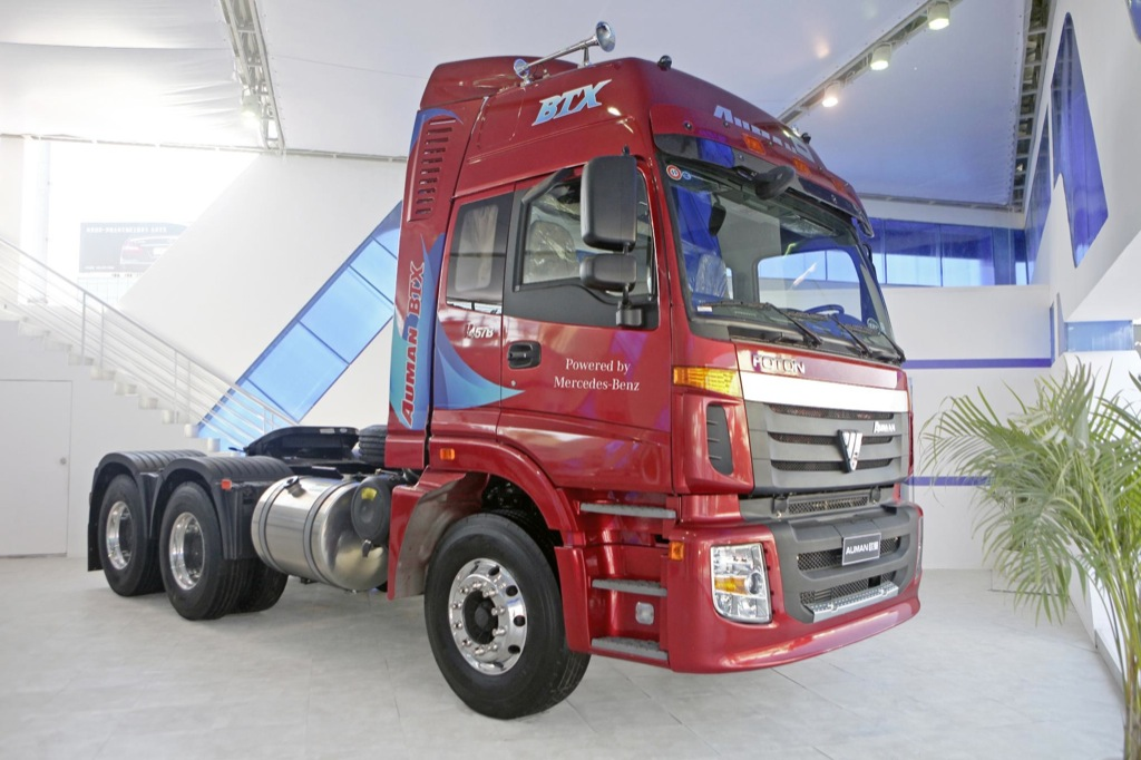 Daimler And Foton Motor Announces China Joint Venture