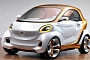 Daimler Confirms smart forfour EV