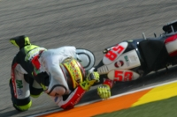 Simoncelli crash in Valencia