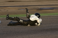 Dainese D-air Racing airbag stunt test in Adria