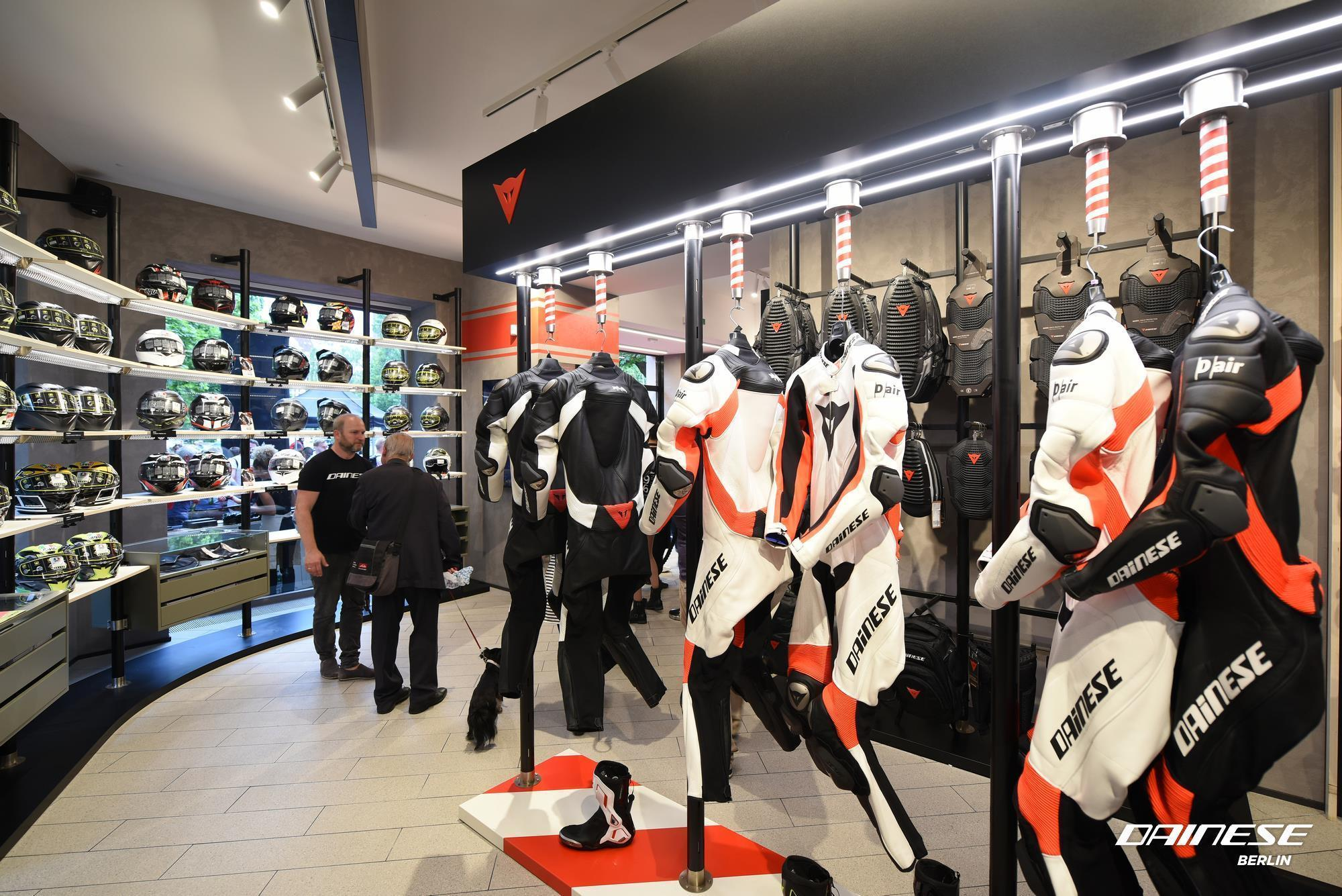Shop Berlin dainese opens format store in berlin autoevolution