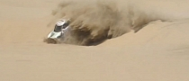 Dakar-Spec MINI Countryman Lands Badly After Dune Jump [Video]