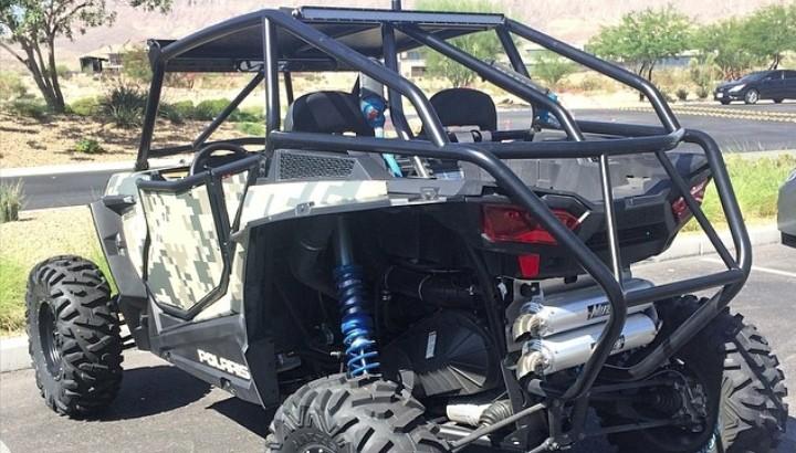 Dan bilzerian is getting a custom machine gun rack in polaris rzr 900 autoevolution