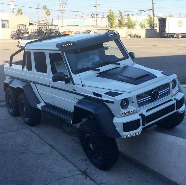Dan Bilzerian Takes First Ride With His New Brabus G63 Amg 6x6