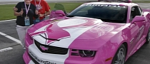 Danica Patrick, Chevrolet Go Pink for Breast Cancer Awareness