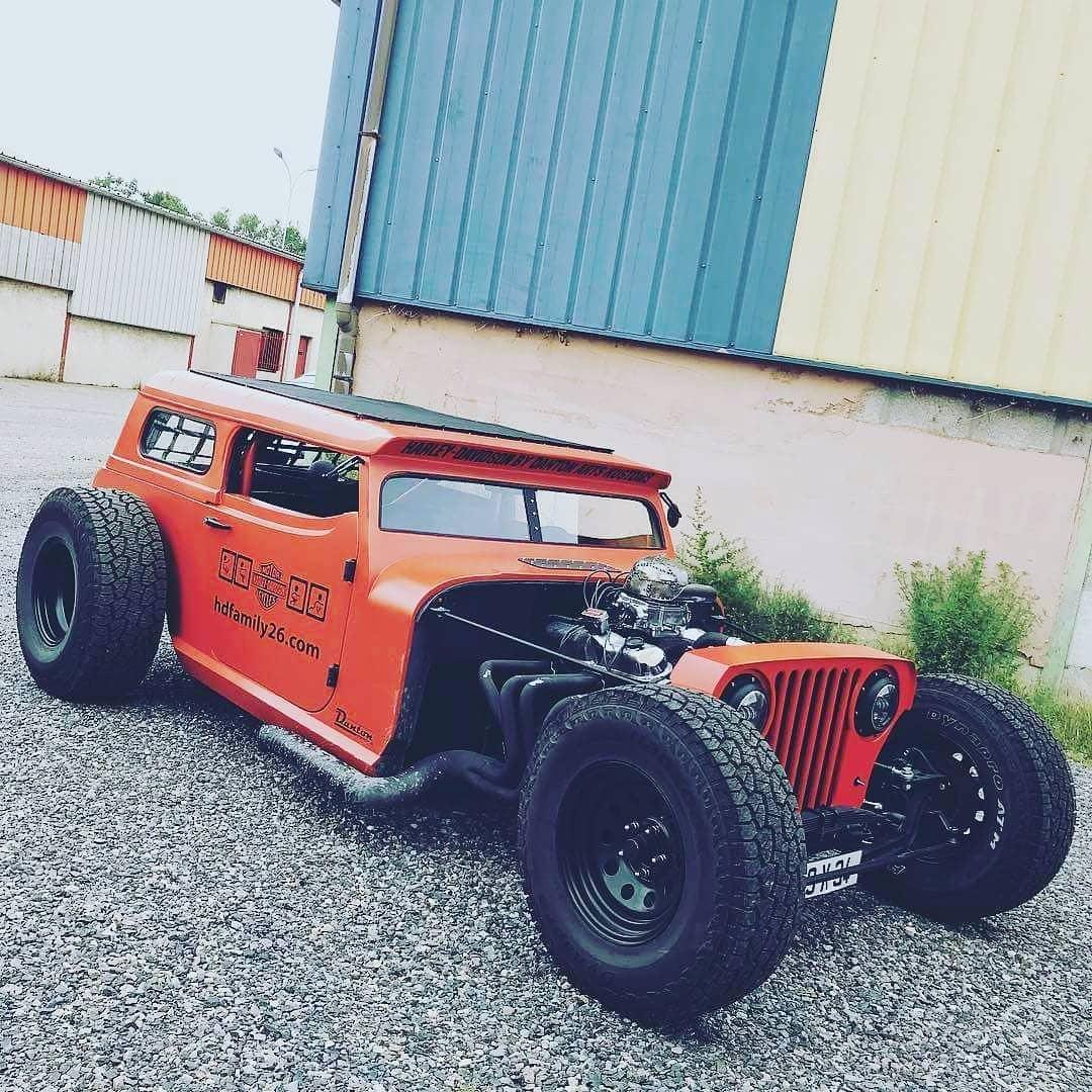 Jeep Wrangler Hot Rod - Bing images | Rat rod, Custom cars