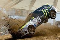 Ken Block X Games dust biting
